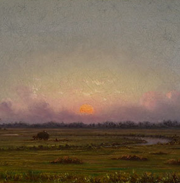 SOLD: $240,000 Martin Johnson Heade