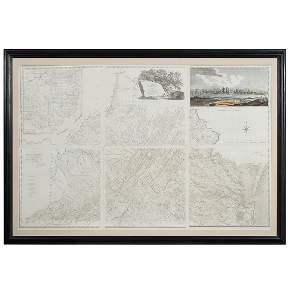 SOLD: $252,000 Bishop James Madison Map Of Virginia