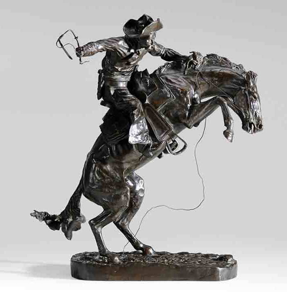 SOLD: $510,000 Frederic Sackrider Remington