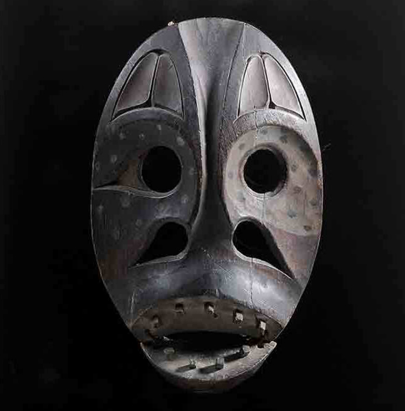 SOLD: $26,400 Native Alaskan Medicine Man Mask