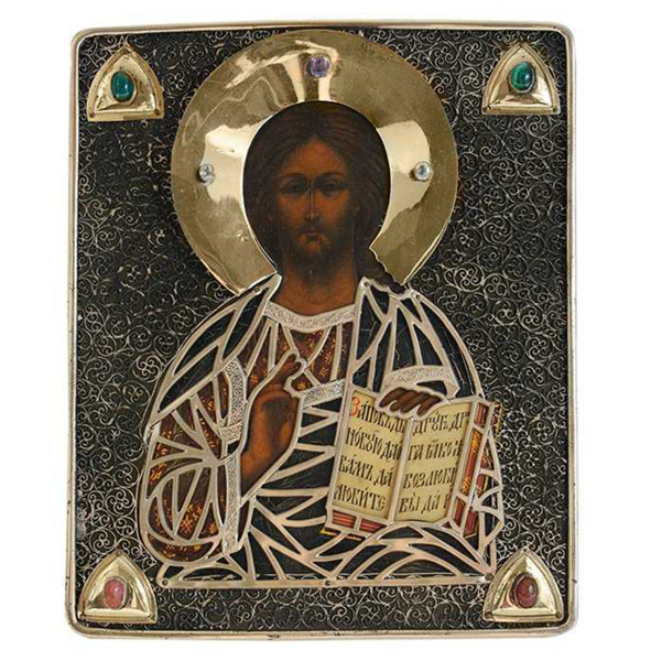 SOLD: $43,200 Russian Icon