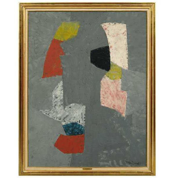 SOLD $396,800 Serge Poliakoff Painting