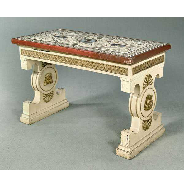 SOLD: $480,000 Micromosaic Table Attributed to Giacomo Raffaelli